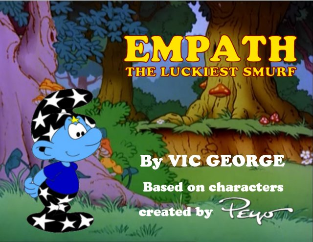 The title screen for the EMPATH: The Luckiest Smurf           series